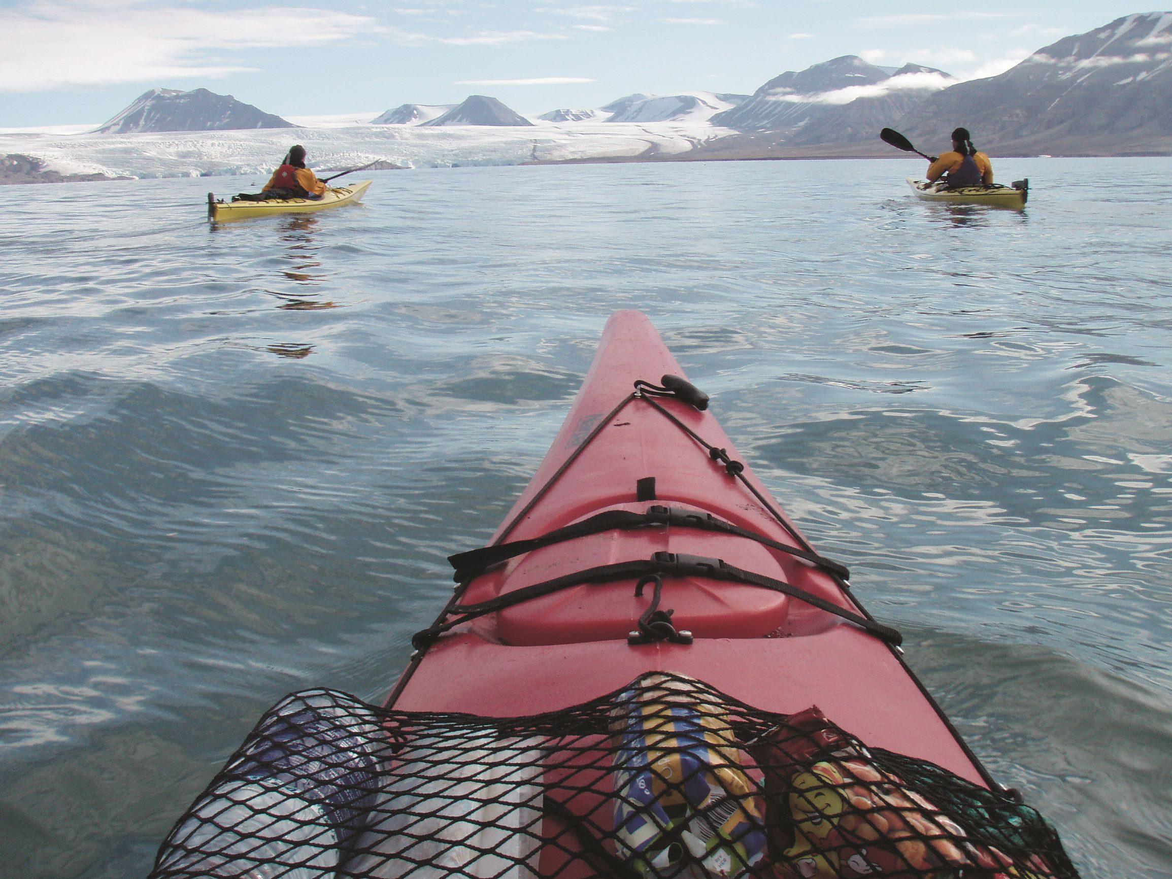 Innover mot Nordenskiøldbreen
