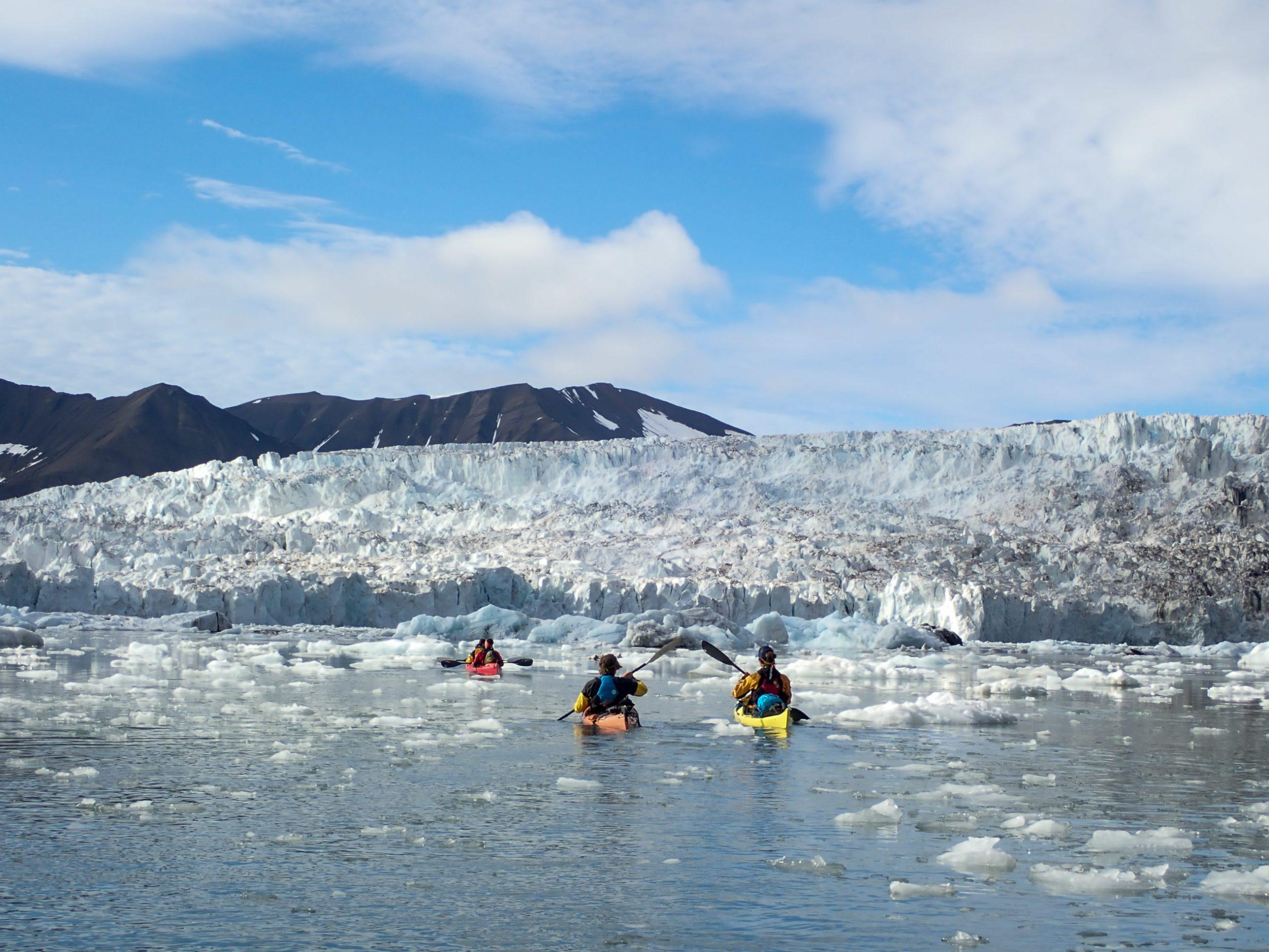 Padleekspedisjoner på Svalbard