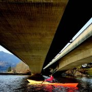 Urban padling i hjertet av Bergen