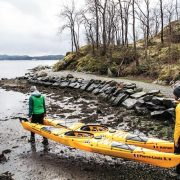 Franske barndomsvenner på eventyr i Norge