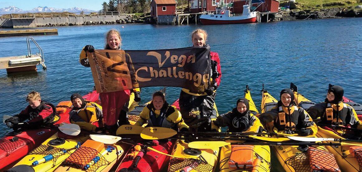 Vega Challenge ønsker velkommen til padlesamling og konkurranse i juli. FOTO: JOHN-HELGE BREIVIK.