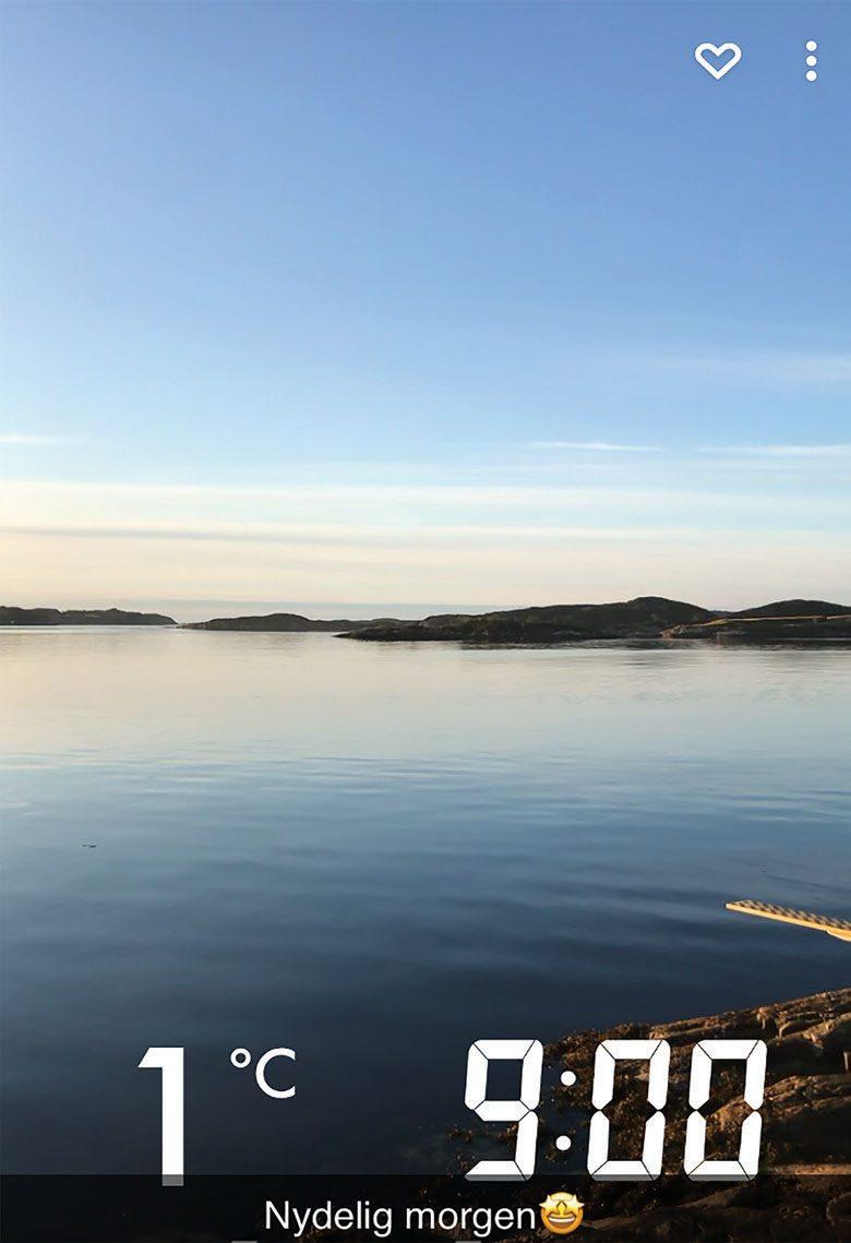 Padler reddet etter fire timer i fire graders sjøvann